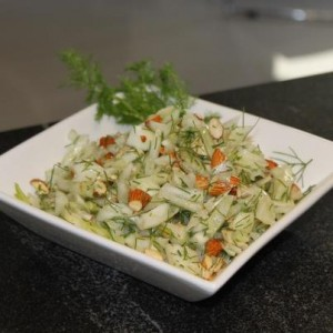 Fennel Almond Salad - Healthy eating