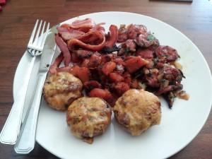 Healthy or Fast food Breakfast