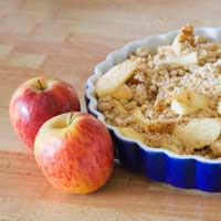 """apple crumble"""