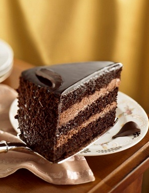 """chocolate mousse cake"""