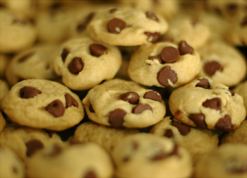 """Easy chocolate chip cookies"""