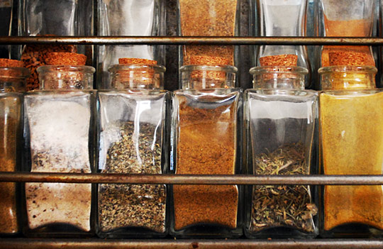 """Herbs and spices cupboard"""