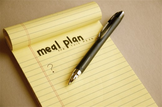 """meal plan for the week"""